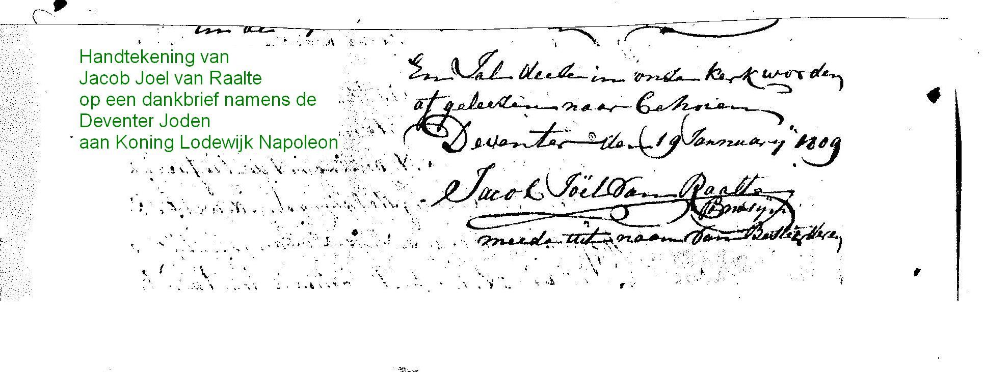 brief met handtekening