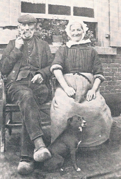 Asser and Antje Vroom, Bronkhorst, ca. 1900